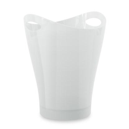 Odpadkový koš GARBINO lesklý/bílý_4