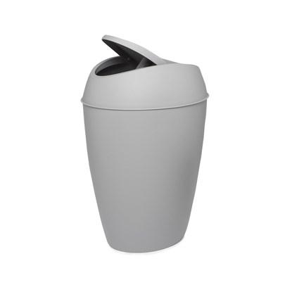 Odpadkový koš TWIRLA šedý_3