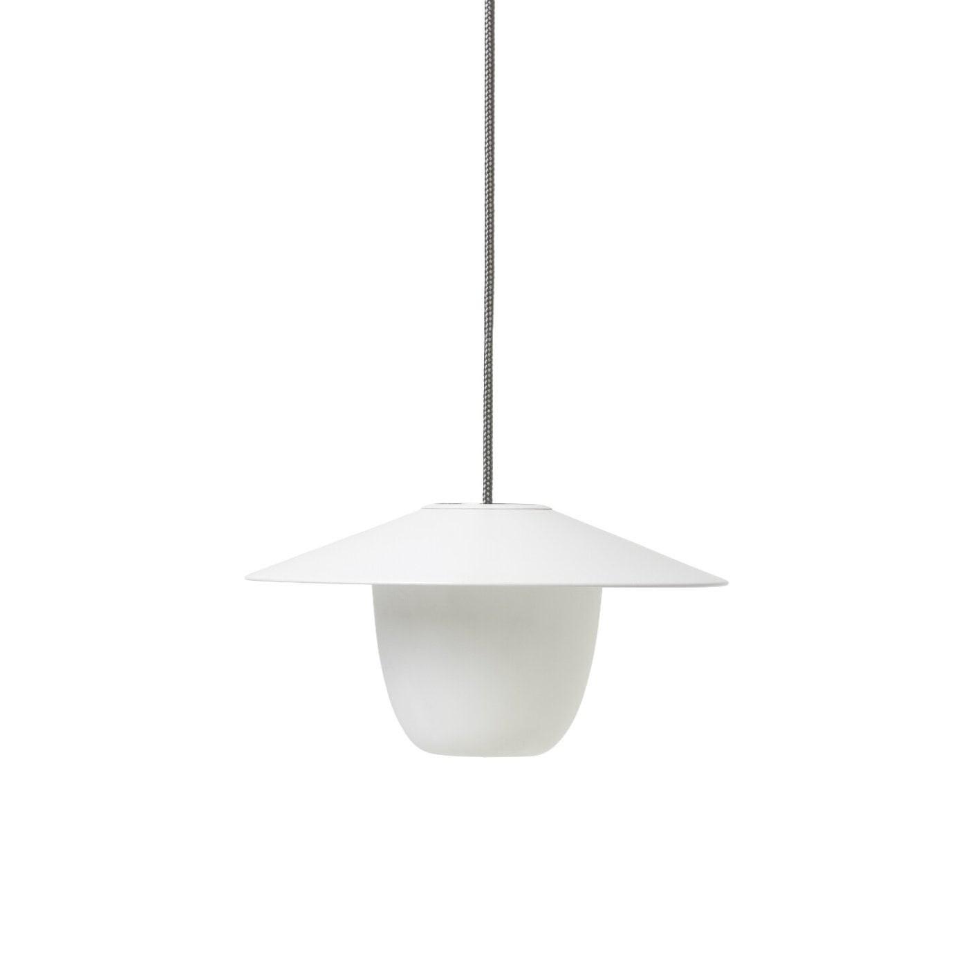 Obrázok z Prenosná LED lampa 120 cm biela