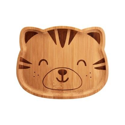 Bambusový talířek Woodland Tiger_1