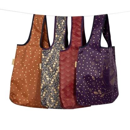 Skládací nákupní taška 49x69 cm 4 motivy cena za kus_1