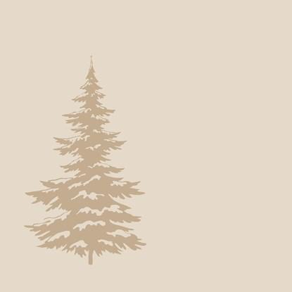 Ubrousky - strom SET/20, krémové_0