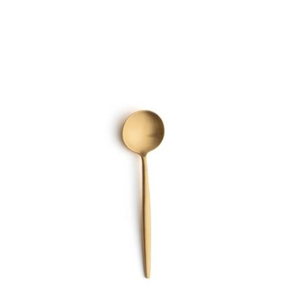 Lžička na espresso MOON zlatá matná_0