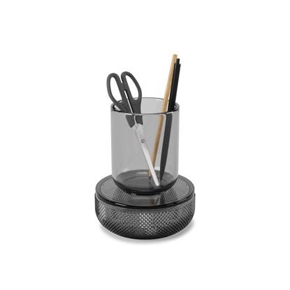 Organizér/dóza s víčkem  ALLIRA SMALL kouřově šedý_0