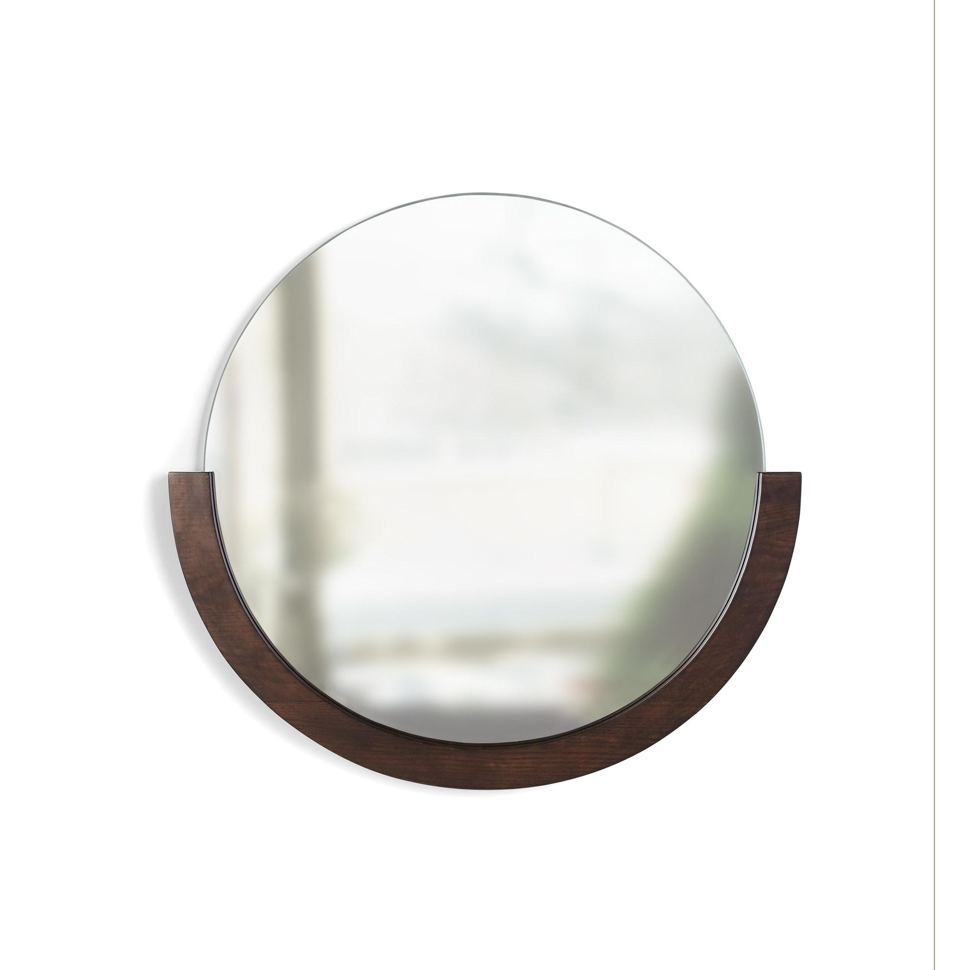 Zrcadlo MIRA s dřevěným rámem_3