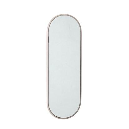 Oválné zrcadlo se světle šedým rámem V.45 cm_1