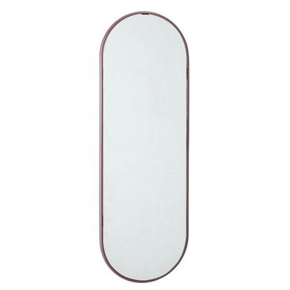 Oválné zrcadlo se sv. fialovým odstínem rámu V. 60 cm_0