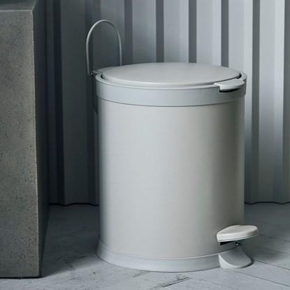 Odpadkový koš EDA 5l krémový_5
