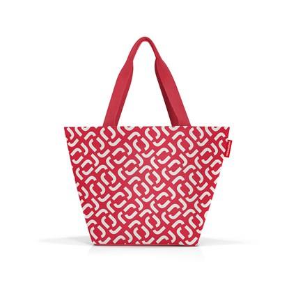 Nákupní taška Shopper M signature red_1