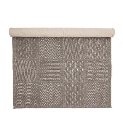 Tkaný koberec Emrah 180x120 cm šedý_3