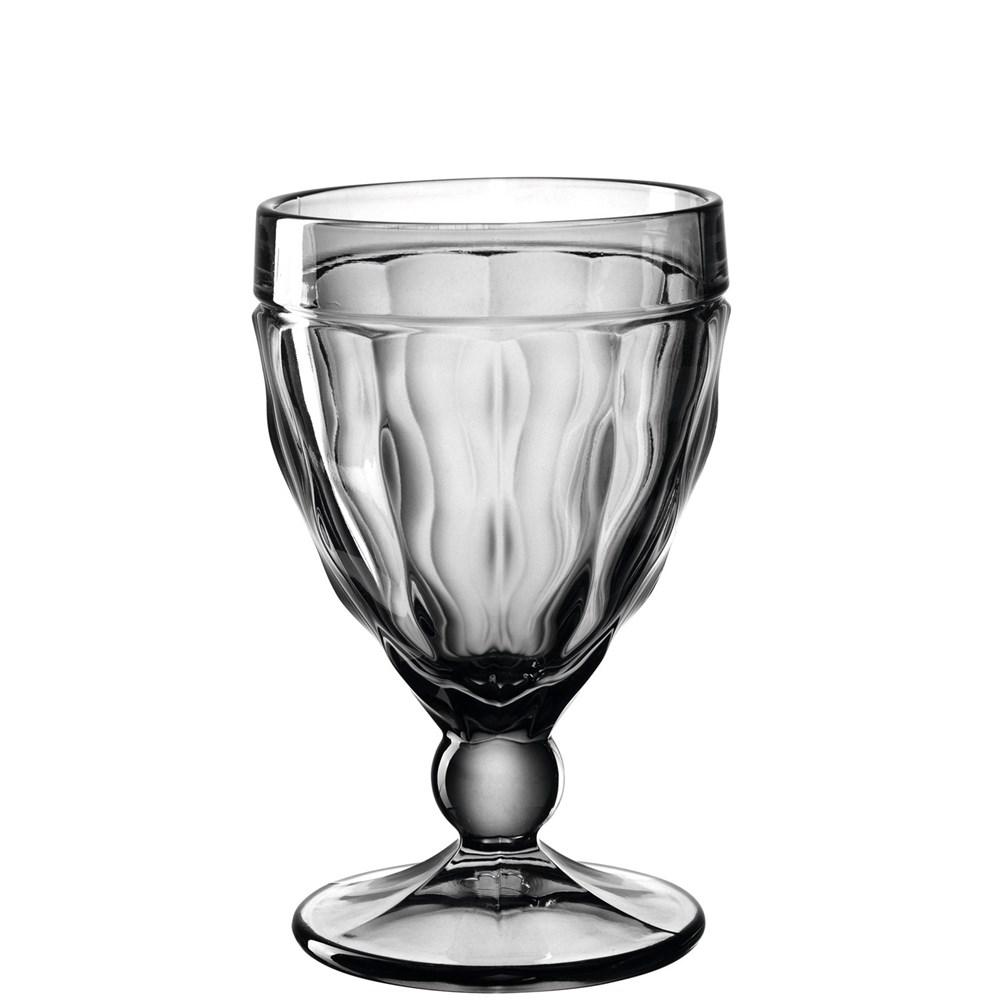 Leonardo Sklenička na červené víno BRINDISI 310 ml šedá