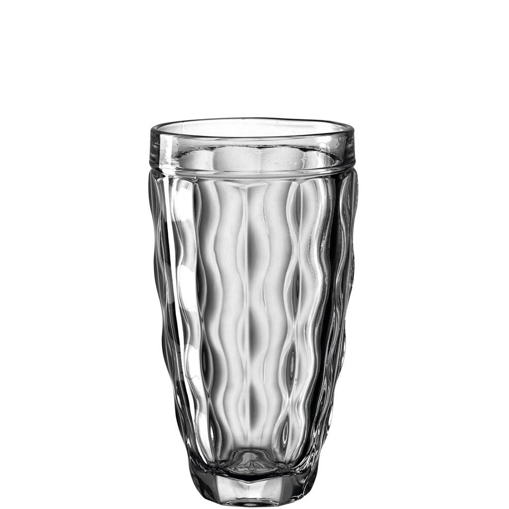 Leonardo Sklenička na vodu BRINDISI 370 ml šedá