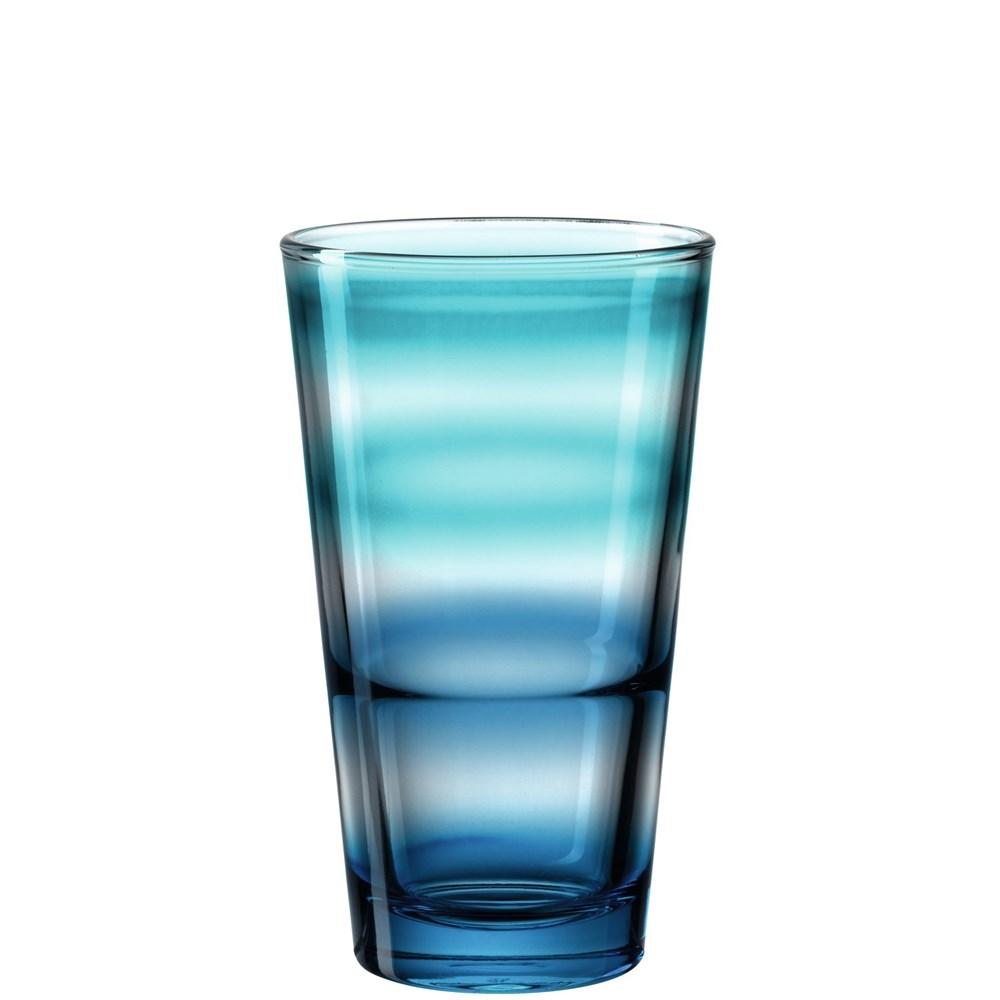 Leonardo Sklenička na vodu RAINBOW  modrá 315 ml