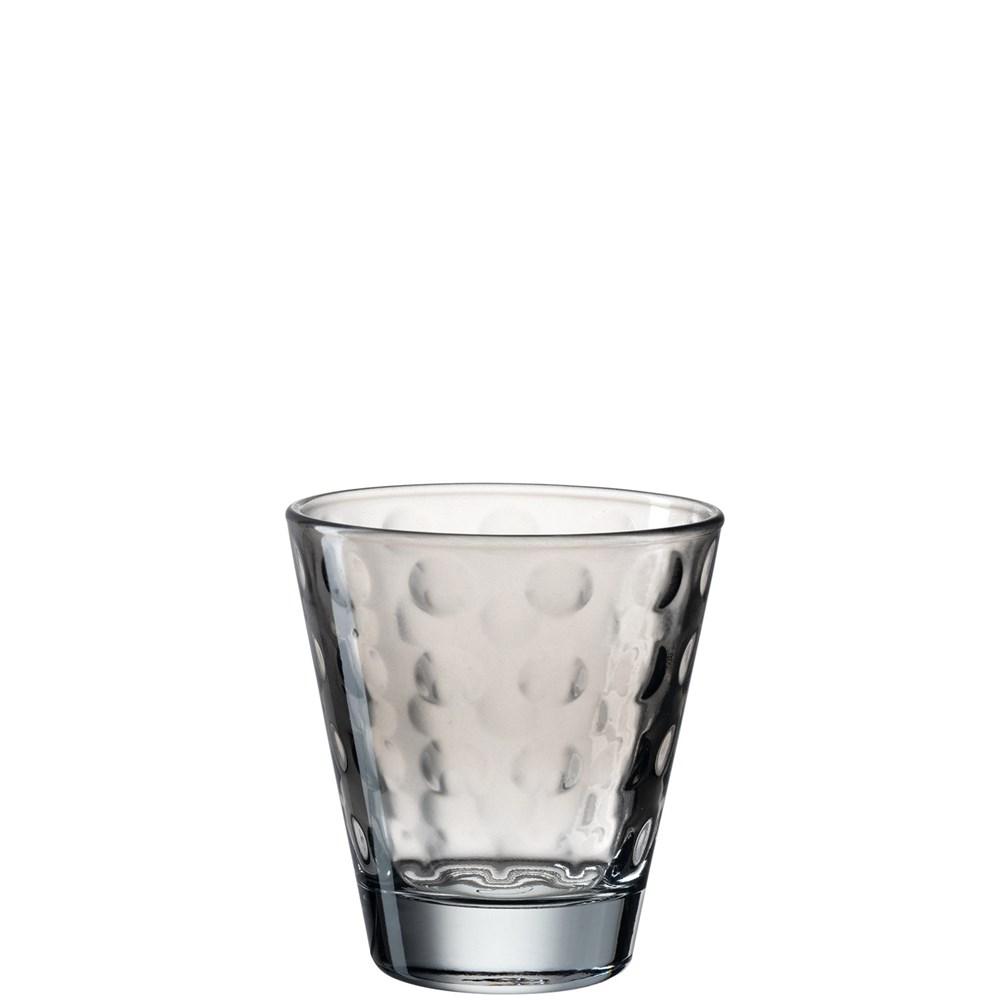 Leonardo Sklenička na vodu OPTIC šedá 215 ml