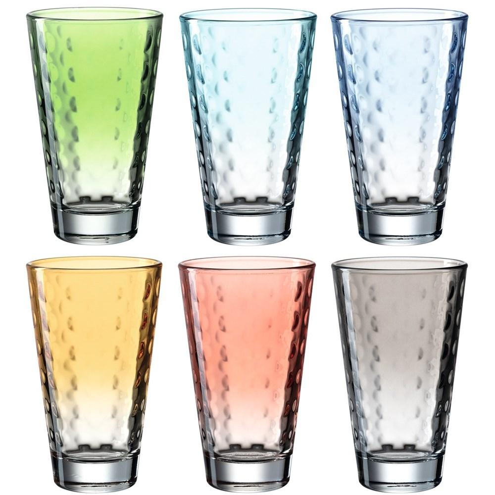 Leonardo Skleničky na vodu OPIC  SET/6 ks 300 ml
