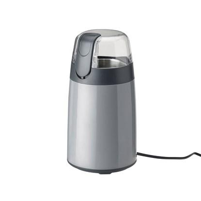 Elektrický mlýnek na zrnkovou kávu EMMA šedý_1