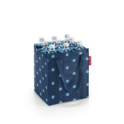 Taška na lahve Bottlebag mixed dots blue_0