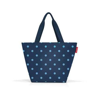 Nákupní taška Shopper M mixed dots blue_1