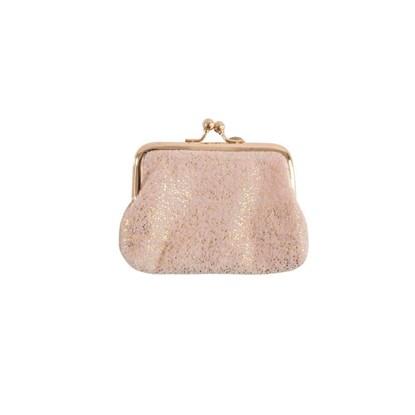 Sametová peněženka na drobné/taštička 11x8 cm Punkte_2
