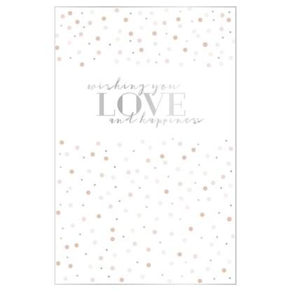 Svatební přání ražené s obálkou_0