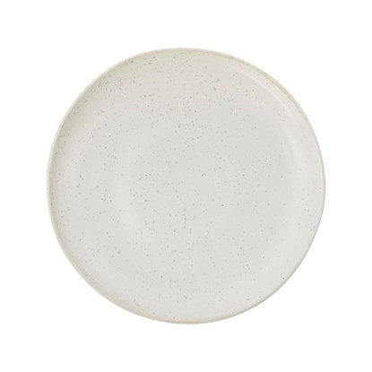 Mělký talíř PION 28,5 cm šedobílý_2