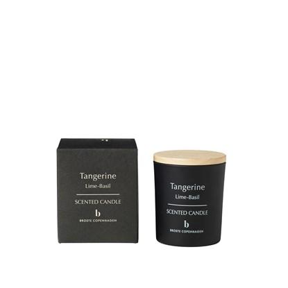 """Vonná svíčka ve skle s dřevěným víčkem """"TANGERINE"""" 8,3 cm_0"""
