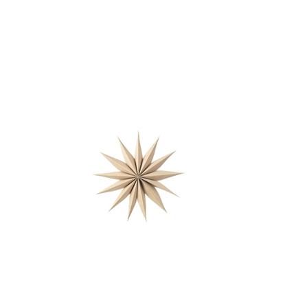 Vánoční hvězda VENOK 30 cm dýha přírodní_0