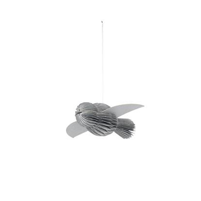 Vánoční ozdoba PAPER BIRD stříbrný_0